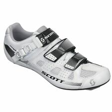 new in box Scott Pro road cycling shoes 43 9.5 white black gloss airmesh uppers