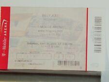 Billy Joel Original Large Concert Used Ticket,Park Theatre Las Vegas, 2016