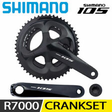 Shimano 105 FC-R7000 50//34 175 mm Hollowtech II Pédalier Noir
