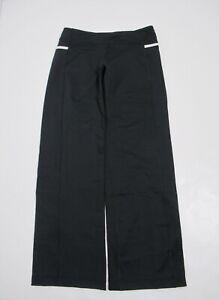 Lululemon Women's tracker pant Black White Size 6 Stretch