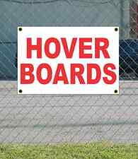 2x3 HOVER BOARDS Red & White Banner Sign NEW Discount Size & Price FREE SHIP
