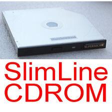 SLIMLINE CDROM POUR NOTEBOOK SERVEUR CLIENT LÉGER SLIM LINE