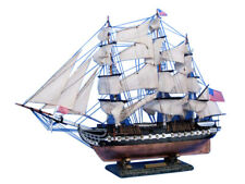 """USS Constitution Limited 30"""" - Tall Ship Model - Wooden Model Ship - Boat Model"""