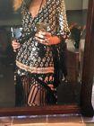 Spell & The Gypsy Bohemian Royale Tassel duster Kimono Dress OS Vintage As New