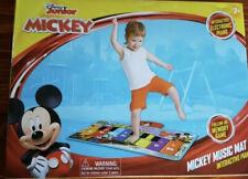Disney Junior Mickey Music Mat Interactive Electronic Piano Memory Game BNIB