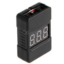 1-8S BX100 Lipo Battery Voltage Tester/ Low Voltage Buzzer Alarm with Dual Speak