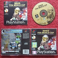 Coupe du Monde FIFA 2002 Original Black Label SONY PLAYSTATION PS1 PS2 PAL
