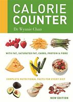 Calorie Counter: Complete Nutritional Facts for Every Diet New Paperback Book Wy