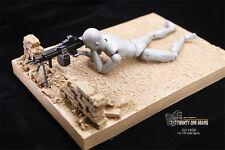 Twenty-one Grams Diorama WWII / Modern Scene Rubble Debris Wall 1/6