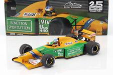 Michael Schumacher Benetton B192 #19 3rd Italien GP F1 1992 1:18 Minichamps