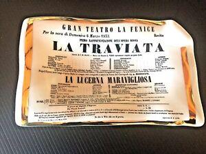 Fornasetti LA TRAVIATA Large Vide Poche