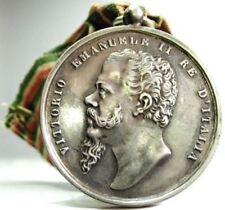 Savoia-Vitt.Emanuele II (Indipendenza e unita' d'ITALIA) Argento