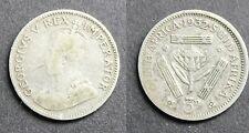 Afrique Sud, George V, 3 Pence 1932 argent