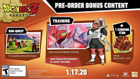 XBOX ONE DLC CODE PRE ORDER BONUS DRAGON BALL Z KAKAROT  ONLY DLC NO GAME