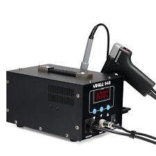 2 In 1 Pro Soldering Iron Desoldering Rework Station Vacuum Pump Gun Yh 948 New