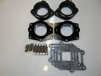 Chariot Banshee BLACK PowerValve Cheetah ONLY Billet Intakes 36-41mm carbs