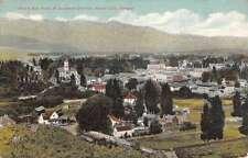 Baker City Oregon Birdseye View Of City Antique Postcard K50259