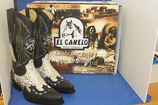 el canelo Boots  cowboystiefel westernstiefel python natur leder handmade gr 44