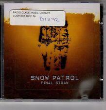 (EV275) Snow Patrol, Final Straw - 2003 CD