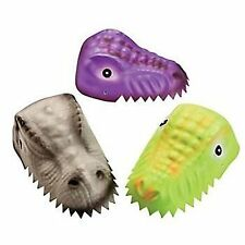 1 x CHILDS MOULDED DINOSAUR HAT DINO PARTY FAVOURS FOAM DINO HEAD SHAPE HATS