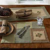 Pineview Placemat Park Designs Collection Rustic Kitchen Cabin Table Placemats