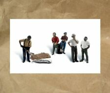 NEW ~ Woodland Scenics ONE MAN CREW People Figures~ Mayhayred Trains N Scale Lot