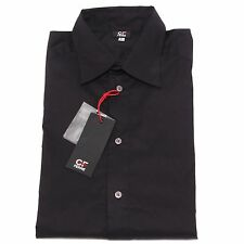 23707 camicia GIANFRANCO FERRE' nero camicia uomo shirt men