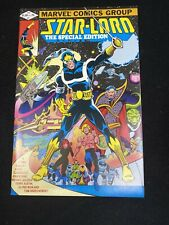 Star-Lord The Special Edition # 1 Marvel 1st Baxter paper deluxe comic 9.4 NM