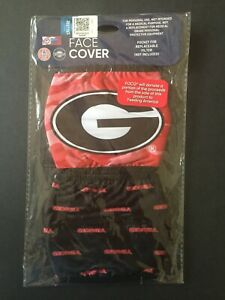 Georgia Bulldogs Officially Licensed 2 Pk Adult Face Mask Qty Discounts FREE S&H