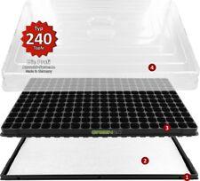 Hydroponik 240 Zimmergewächshaus XL Pro mit automatischer Bewässerung