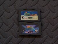 Lot of 2 Nintendo Game Boy Advance GBA Games SpongeBob SquarePants