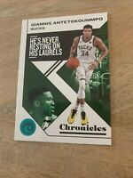 2019-20 Panini NBA Chronicles Teal Giannis Antetokounmpo