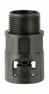 (10er Pack) Schutzschlauch-Fitting/Polyamid schwarz/Größe 13/M16x1,5