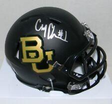 Corey Coleman Signed Autographed Baylor Bears Matte Black Speed Mini Helmet Jsa