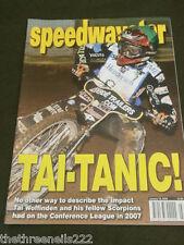 Speedway Star - Tai Woffinden & Scorpions - Jan 19 2008