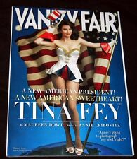 2009 Vanity Fair TINA FEY William F. Buckley Jr. (VF+ COPY)