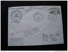 TAAF carta 18/8/83 - sello stamp - yvert y tellier nº98 (cy7)