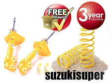 4 Front Suspension Kit Nissan Pulsar N15 Gas Struts Springs Sedan Hatch 95-2001