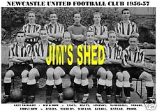 NEWCASTLE UNITED F.C.TEAM PRINT 1956-57 (SCOULAR/CASEY)
