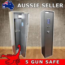 5 GUN DIGITAL GUN SAFE, RIFLE, SHOTGUN SAFE CAT A & B FIREARMS - SCORPION