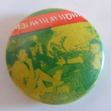 VINTAGE 1980's 'BOW WOW WOW' BADGE - COLLECTORS PIECE (PUNK/NEW WAVE)