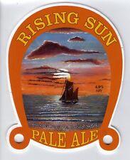 GREEN JACK BREWING CO (LOWESTOFT) - RISING SUN PALE ALE - PUMP CLIP FRONT
