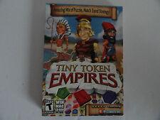 Tiny Token Empires PC 2012 Windows XP Vista 7 MAC NEW  PUZZLE MATCH STRATEGY
