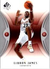 2006-07 SP Authentic #13 LeBron James Card GG