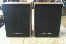New listing Vintage Realistic 8 Ohm Speakers