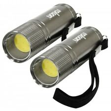 Rolson 3w COB Aluminium Torch with Batteries-Set of 2 - 61567