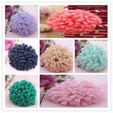 10pcs Wholesale Fabric Chiffon Headband Flowers DIY supplies Hair Accessories