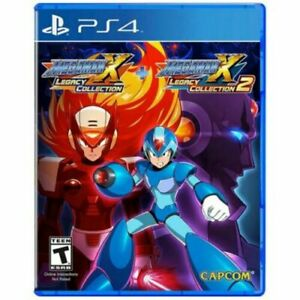 Mega Man X Legacy Collection 1 + 2 PS4 Game Usa