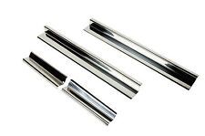 Entry Guards 4 pc 4 Door Polished Stainless Jeep Wrangler JK 2007-2017 30585