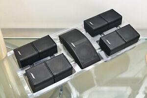 Bose Mesh Jewel Speakers x5. Excellent Top Condition. Acoustimass / Lifestyle...